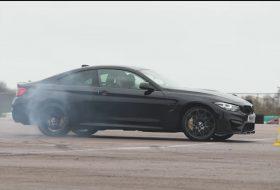 autós videó, bmw m4, carwow, drift, női vezető