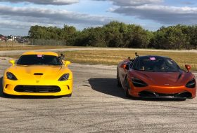 autós videó, dodge viper, dragtimes, gyorsulási verseny, mclaren 720s, tuning