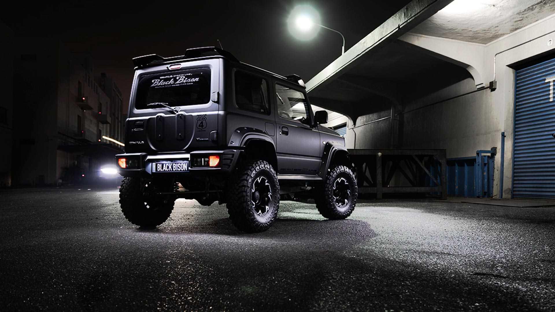 Suzuki Jimny Black Bison by Wald International