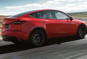 autós videó, elektromos autó, model y, suv, új tesla, zöld autó