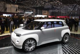 concept centoventi, elektromos, fiat, genfi autószalon, városi mobilitás