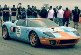 ford gt, texas mile