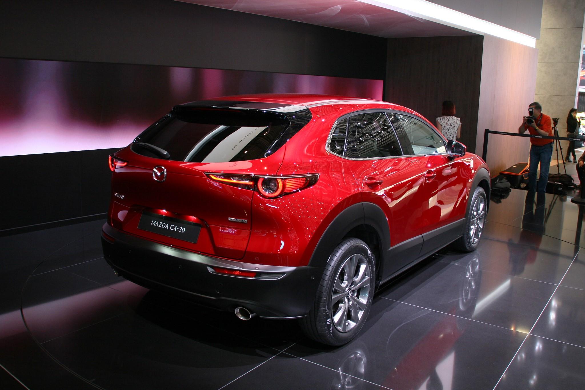 Mazda CX-30 Genfi Autószalon 2019