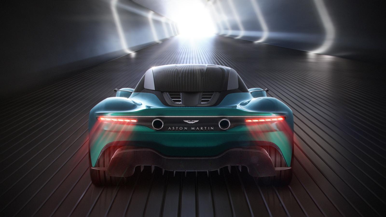 Aston Martin Valkyrie, AM-RB 003, Vanquish Vision Concept
