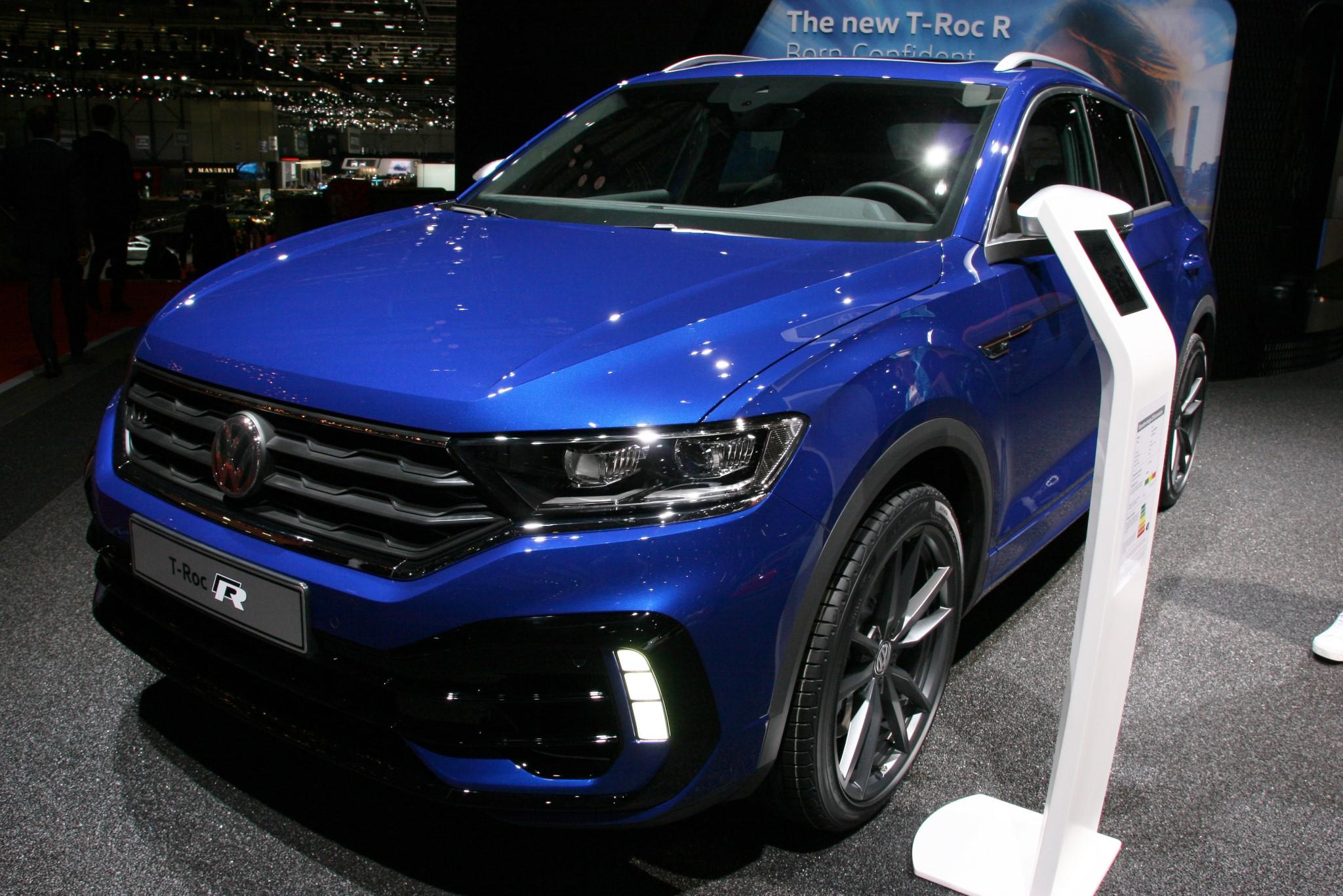 Volkswagen T-Roc R 2019 Genfi Autószalon