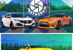 amerika, honda civic, instagram, legnépszerűbb, nissan gt-r, új audi, új autó, új bmw, új ford mustang