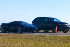 600lt, grand cherokee, gyorsulási verseny, hennessey, trackhawk, új jeep, új mclaren