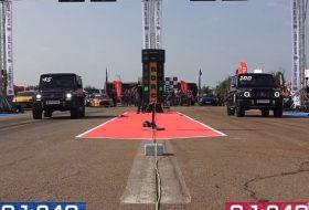 G63, gyorsulási verseny, mercedes-amg, suv, terepjáró, új g-osztály