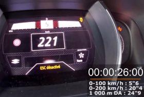 autós videó, gyorshajtás, gyorsulás, mégane r.s. trophy, új mégane, új renault