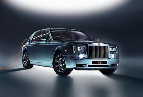 elektromos autó, hibrid, környezetbarát, új phantom, új rolls-royce