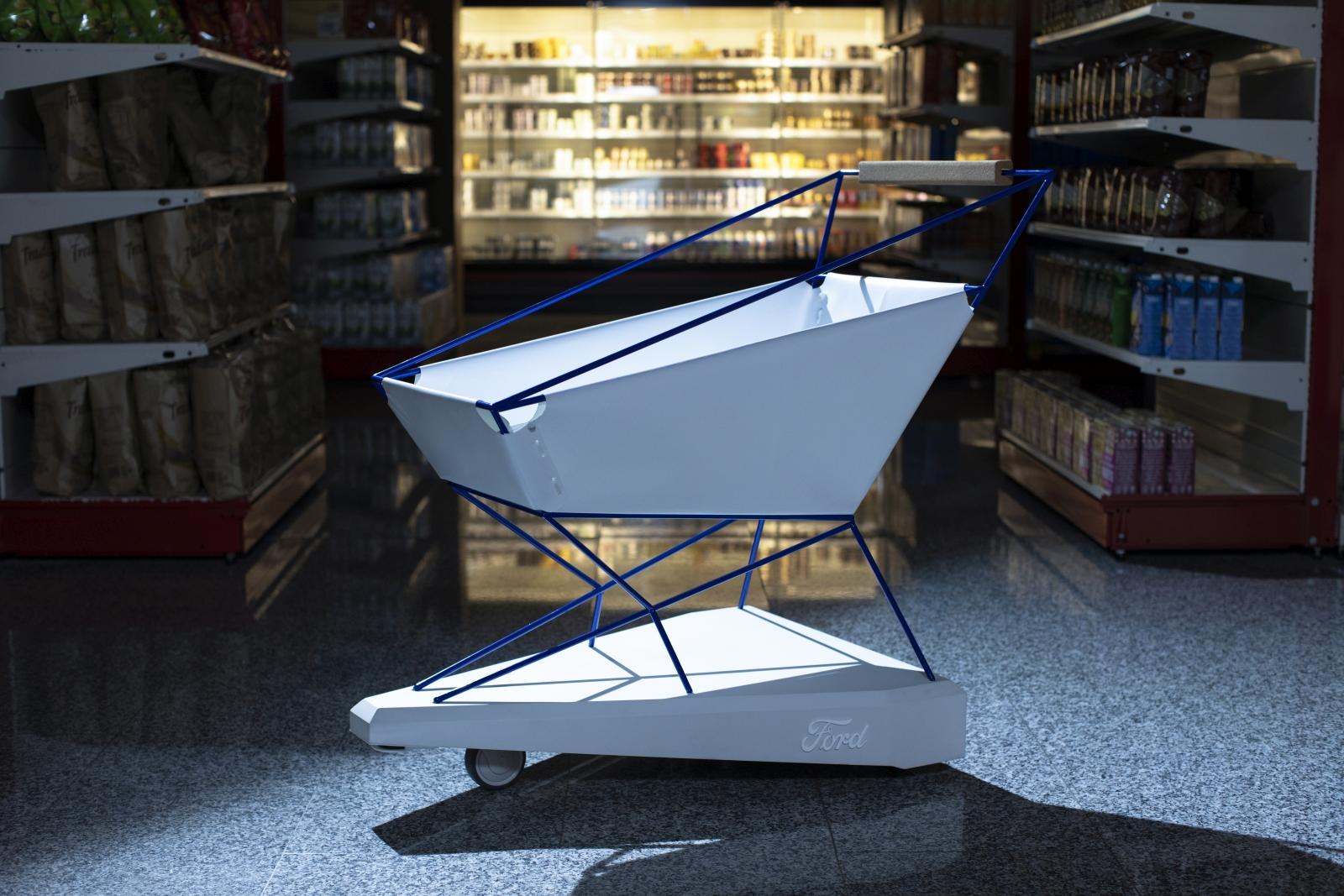 'Self-Braking Trolley' Could Help to Make Supermarket Shoppi