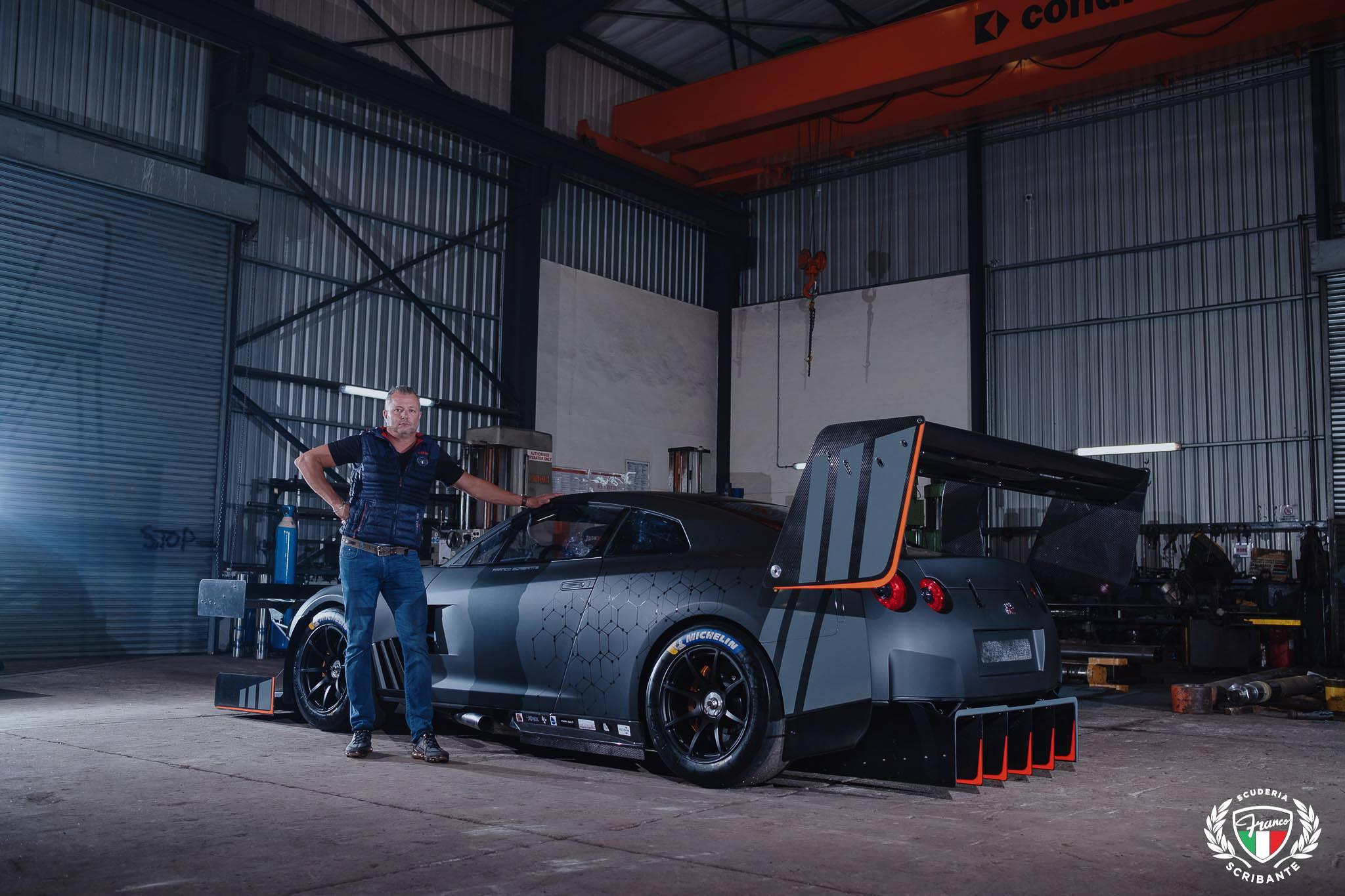 Nissan GT-R Franco Scribante Racing hillclimb
