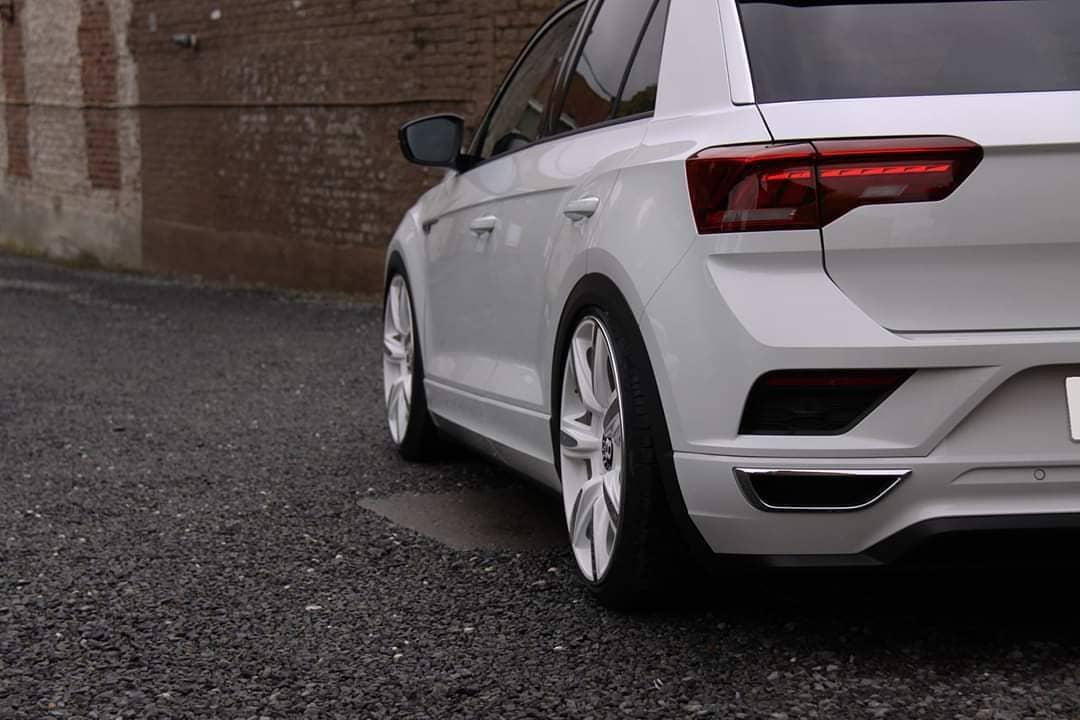 Volkswagen T-Roc R-Line Bentley felniken