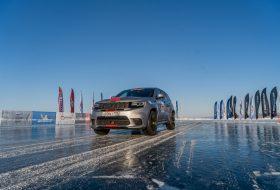 bajkál-tó, jeep, jeep cherokee, jég, rekord, trackhawk
