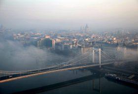 budapest, dízel, dízelüzemű, elektromos, gázüzemű, hibrid, károsanyag-kibocsátás, szmogriadó