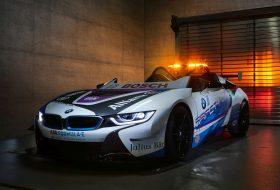 biztonsági autó, bmw, formula e, i8 roadster, safety car