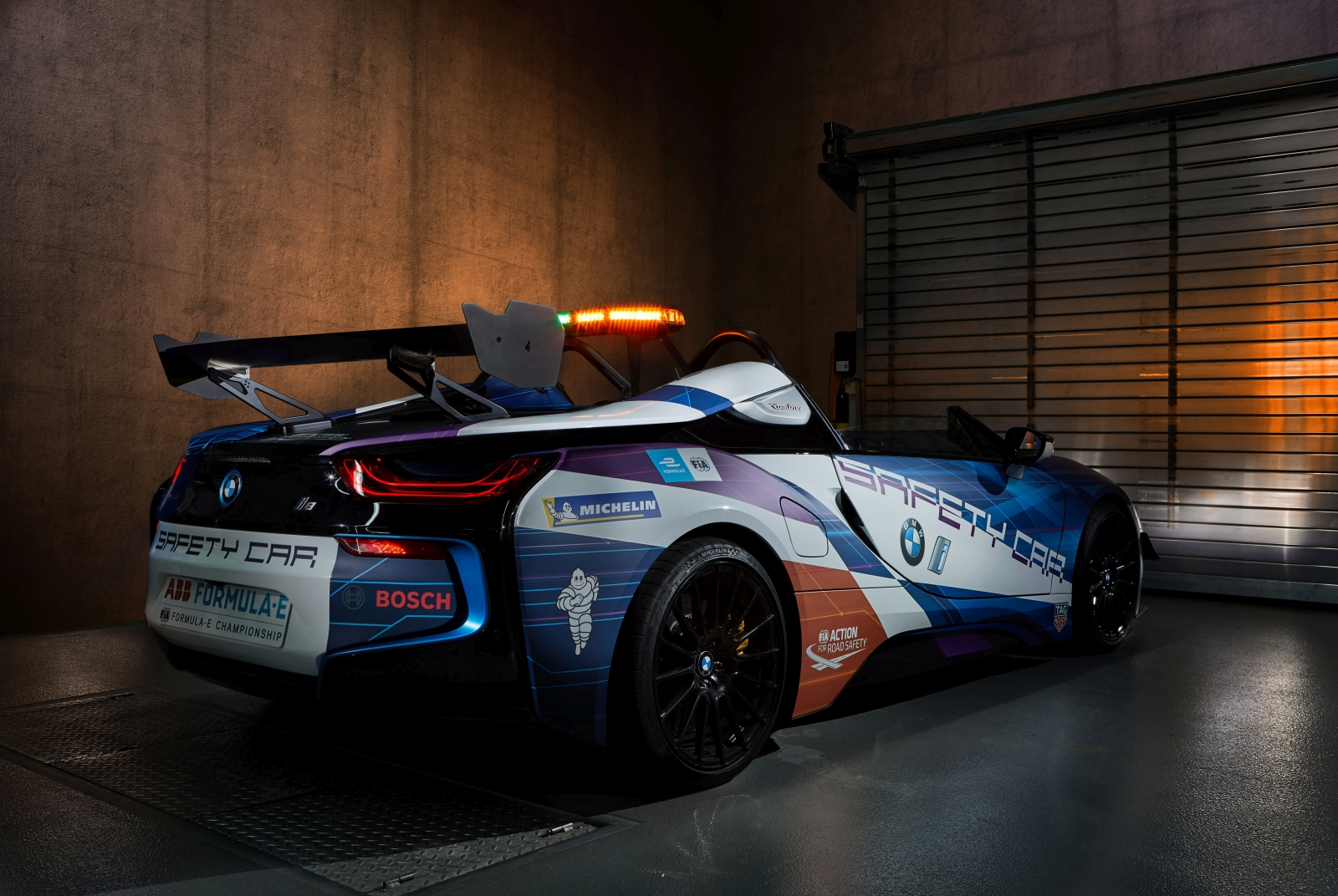 BMW i8 Roadster Safety Car