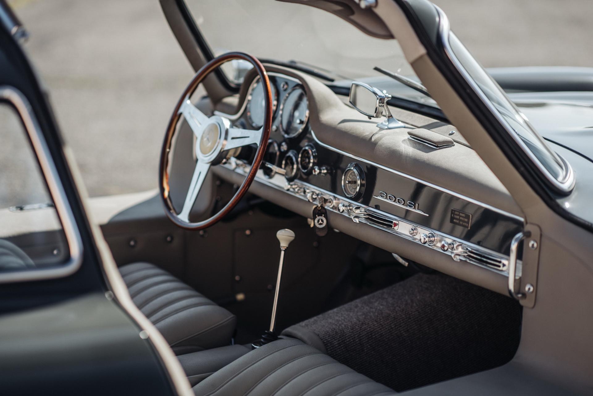 Mercedes-Benz 300SL Gullwing 1956 árverés