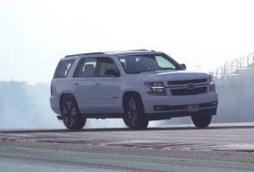 abu dhabi, autós videó, chevrolet, drift, suv, tahoe suv
