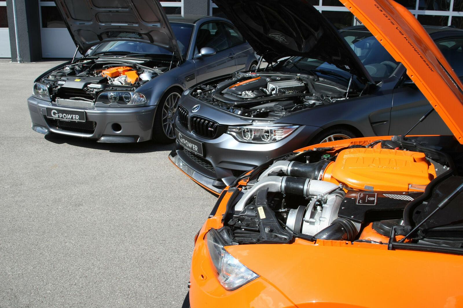 G-Power BMW M3 CSL, M3 GTS és M4 GTS