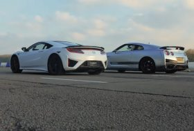 gyorsulási verseny, honda nsx, litchfield, nissan gt-r, top gear, tuning