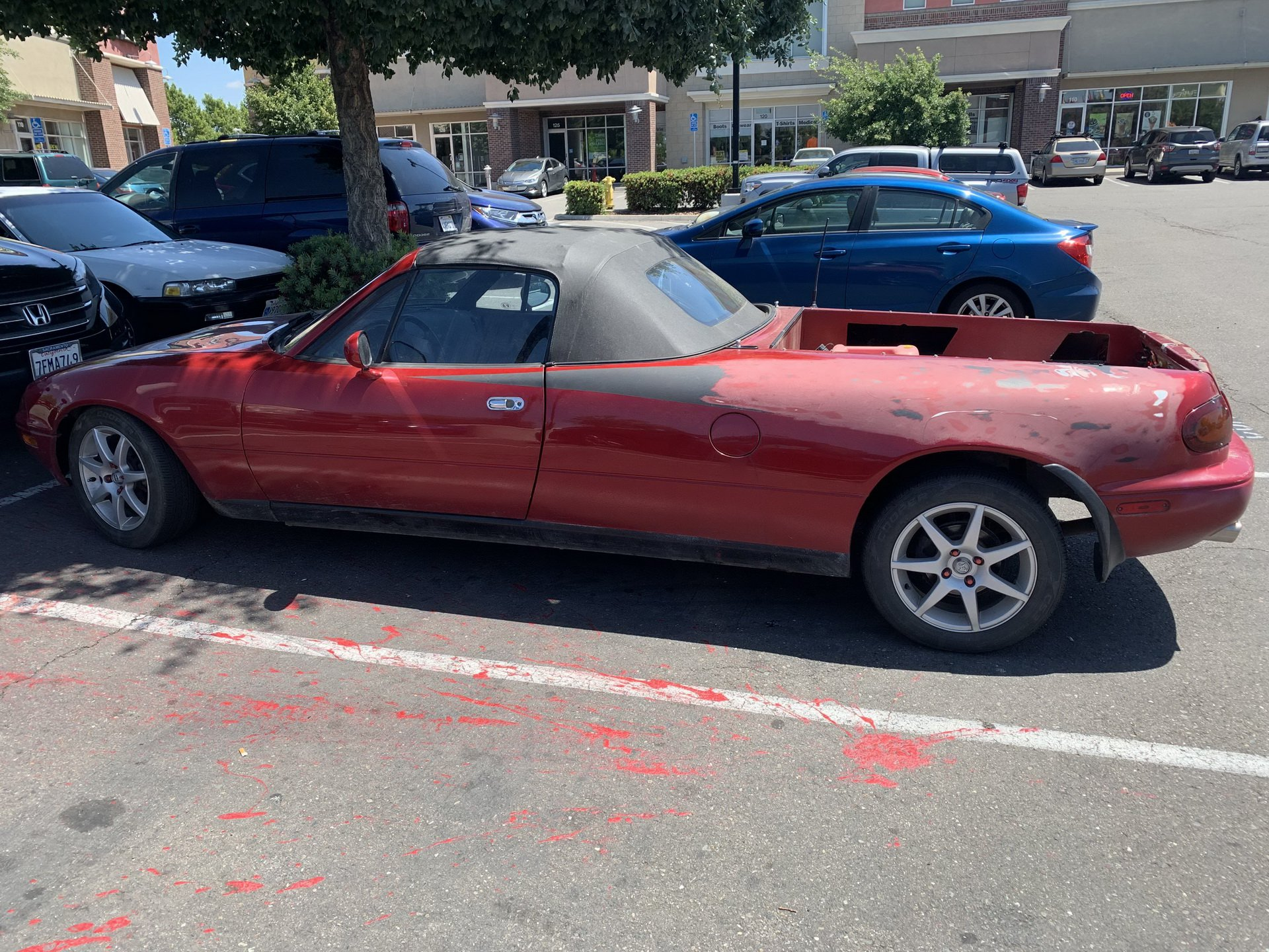 Pickup lett a Mazda MX-5-ből