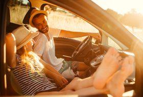 autóvezetés, biztonság, járművezető, nyár, parkolás, sérülés, ütközés