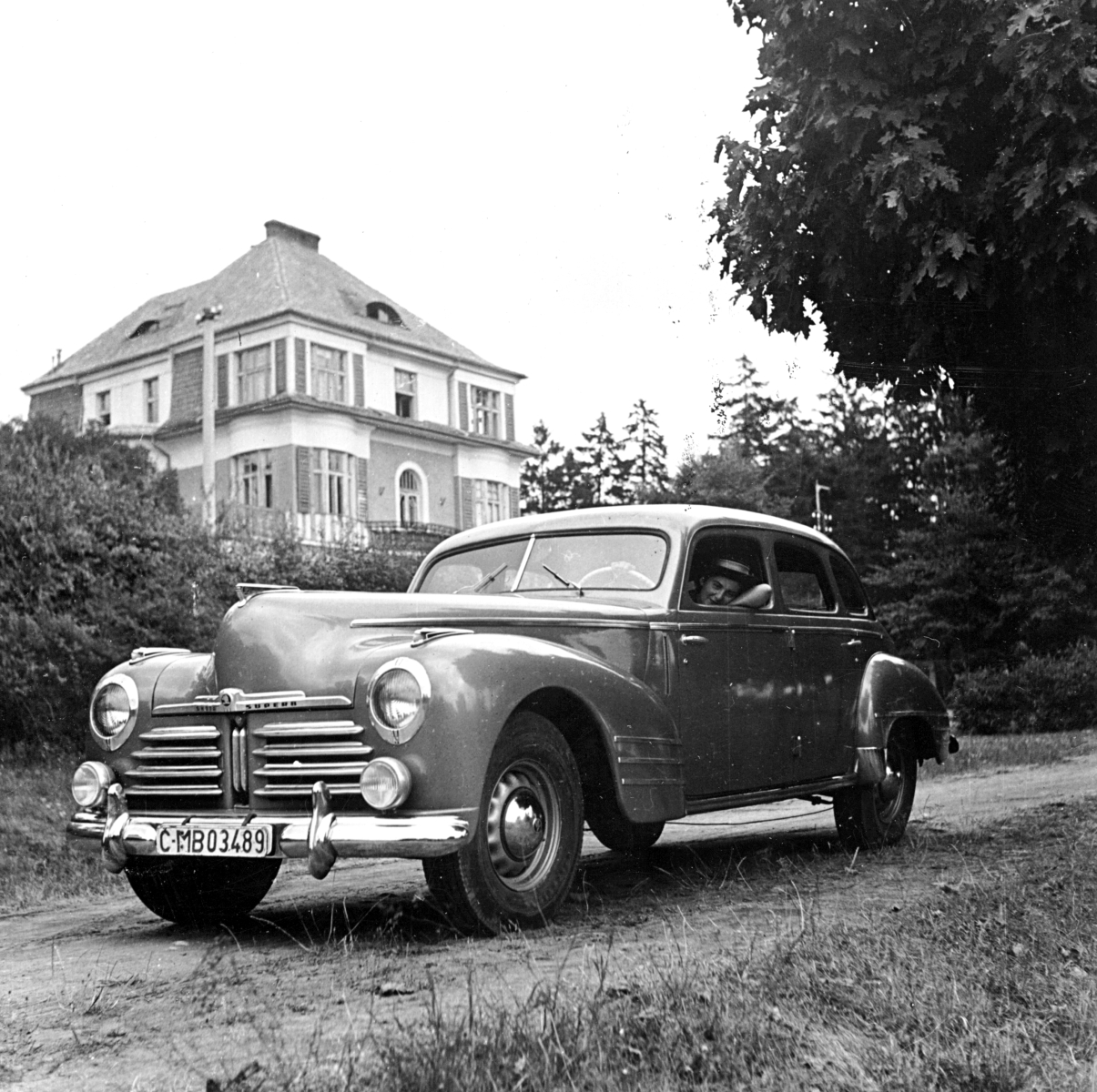 1948 Škoda Superb OHV