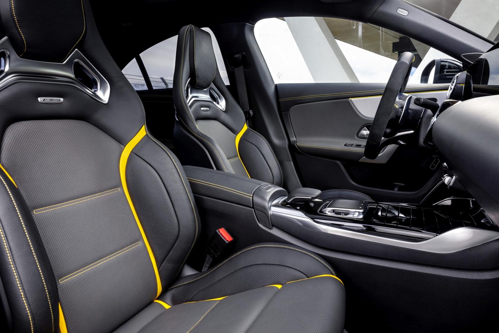 Mercedes-AMG A 45, A 45 S, CLA 45, CLA 45 S 4MATIC+