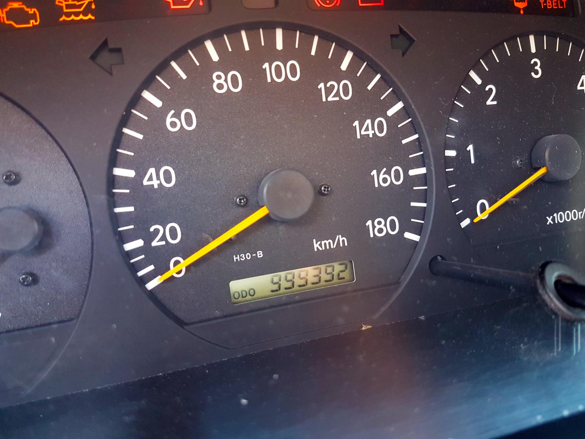 Az 1 millió kilométeres Toyota Hiace