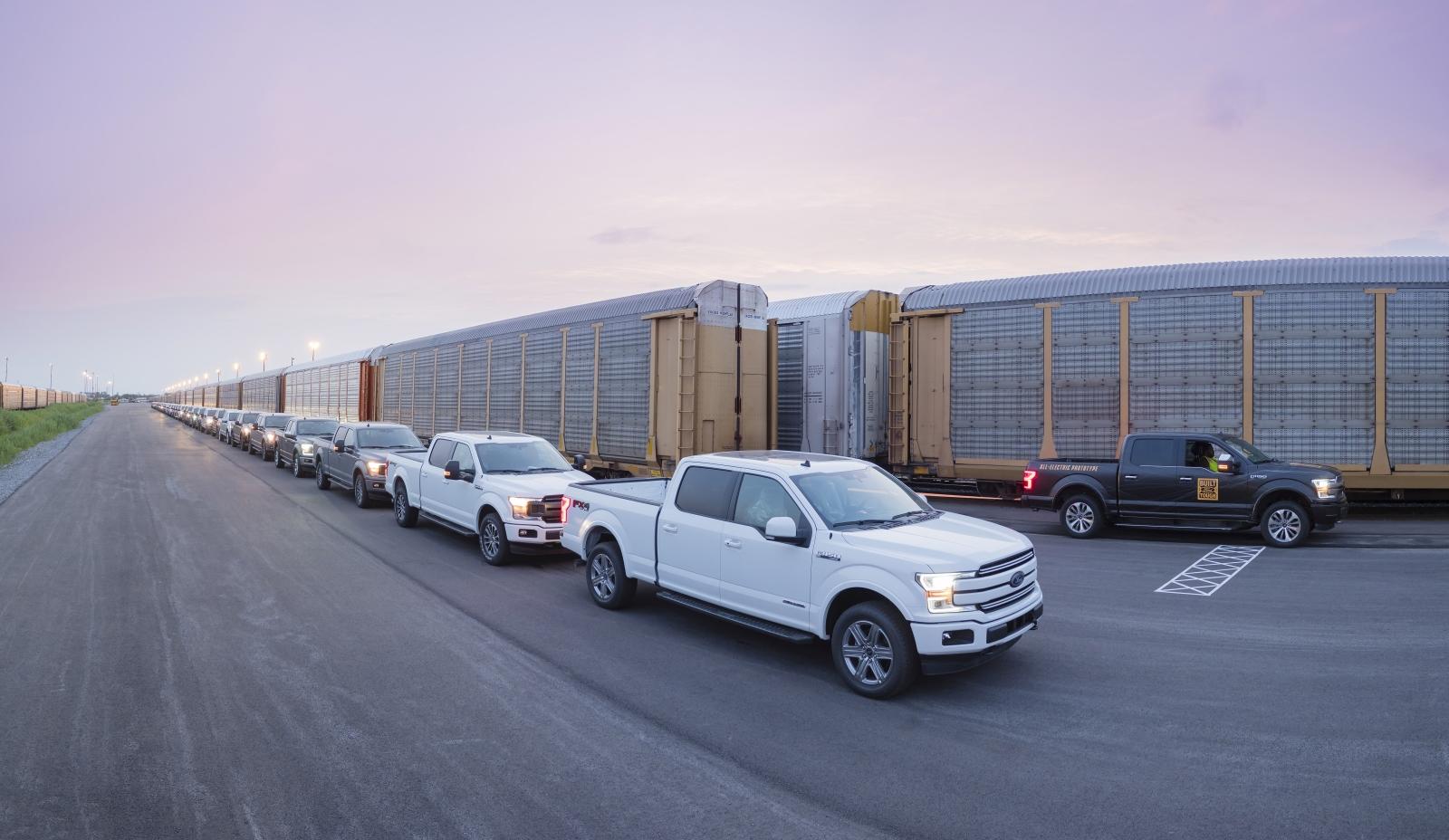 540 tonnát vontat az elektromos Ford F-150 prototípus