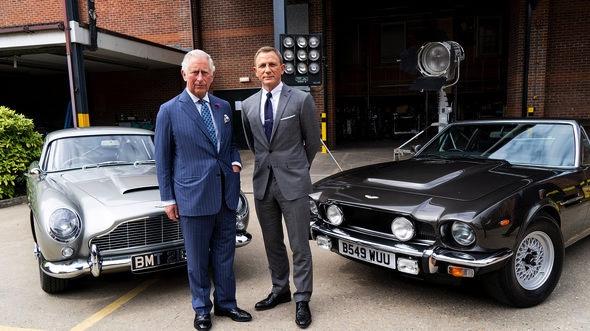 Károly herceg és Daniel Craig