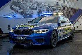 ausztrália, autópálya, bmw m5, elfogó, m5 competition, rendőrség