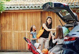 biztonság, gyerek, gyerekülés, nyaralás
