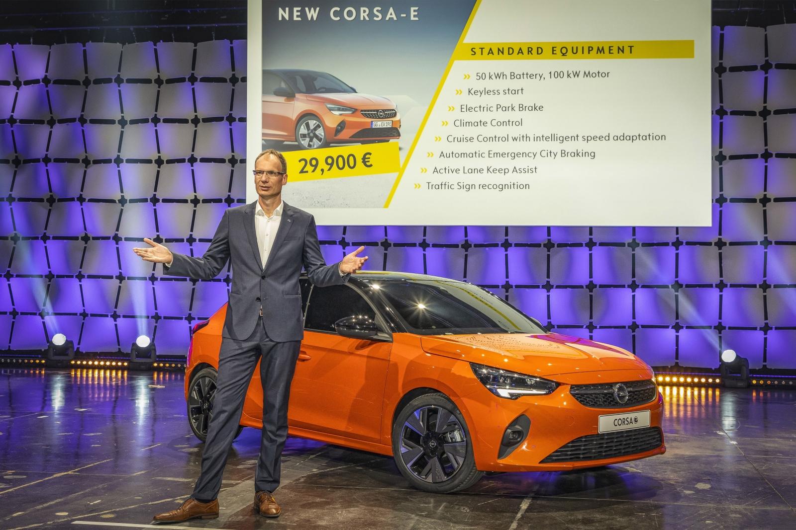 Michael Lohscheller, Opel Corsa-e (2019)