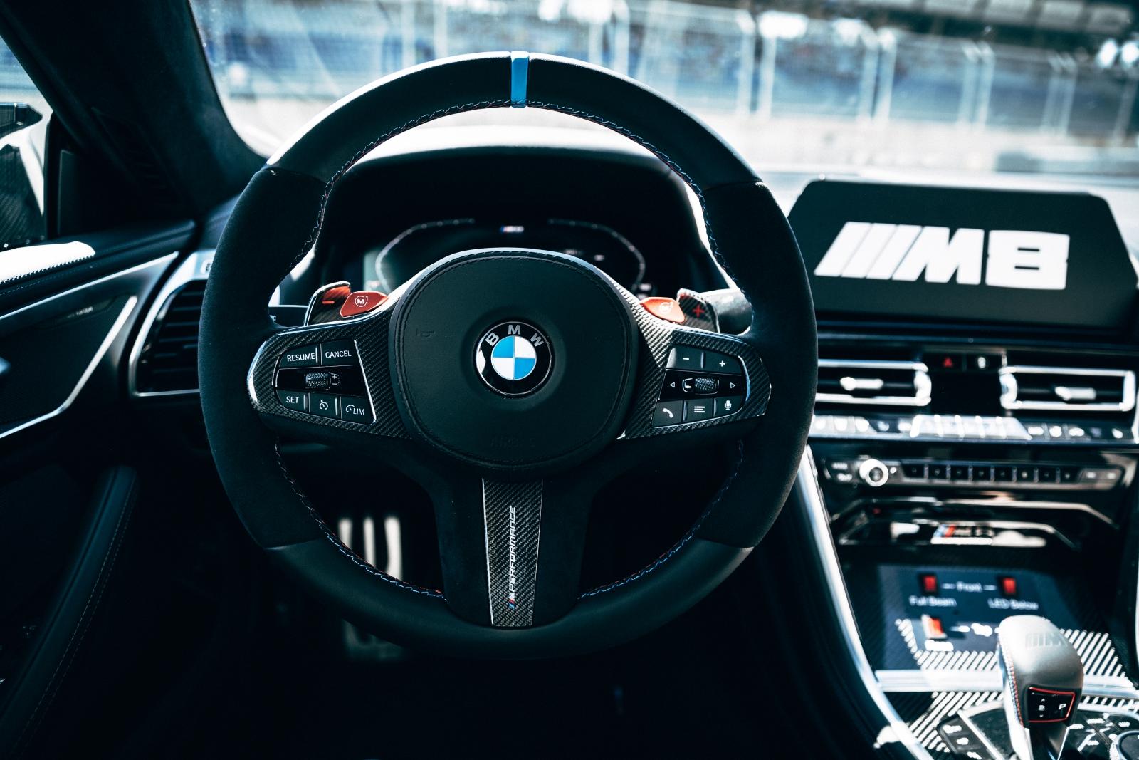 BMW M8 MotoGP Safety Car