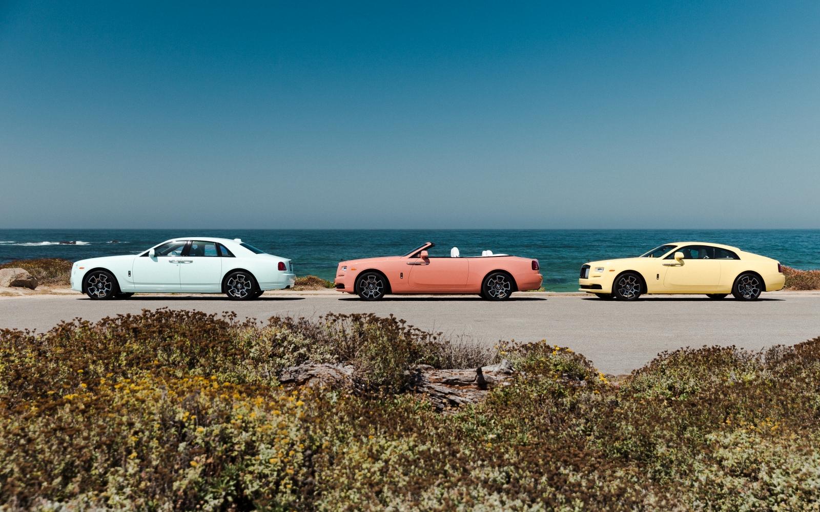 Rolls-Royce pasztell kollekció