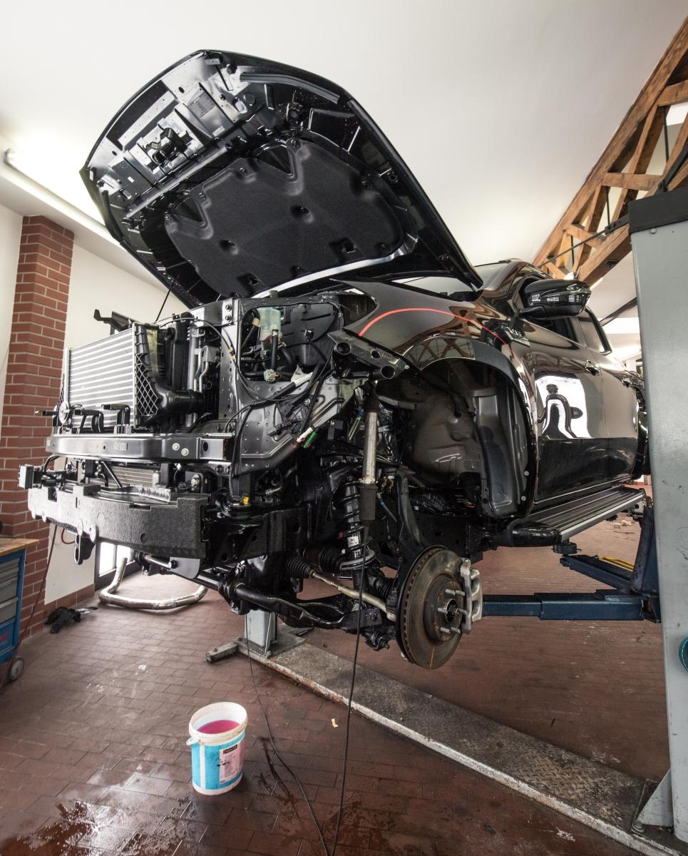 delta4x4 Mercedes-Benz X-osztály