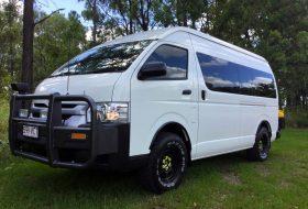 ausztrália, bus 4x4, kisbusz, lakóbusz, land cruiser, toyota hiace