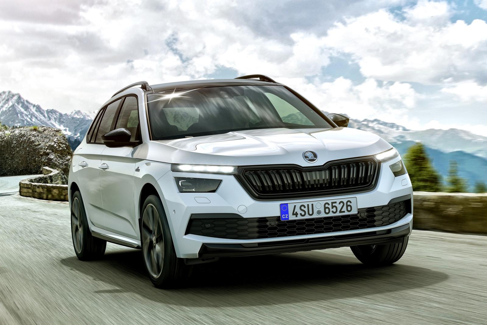 Škoda Scala és Kamiq Monte Carlo