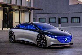 elektromos, fenntarthatóság, frankfurti autószalon, mercedes-benz, vision eqs