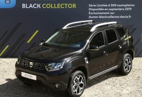 black collector, dacia, duster