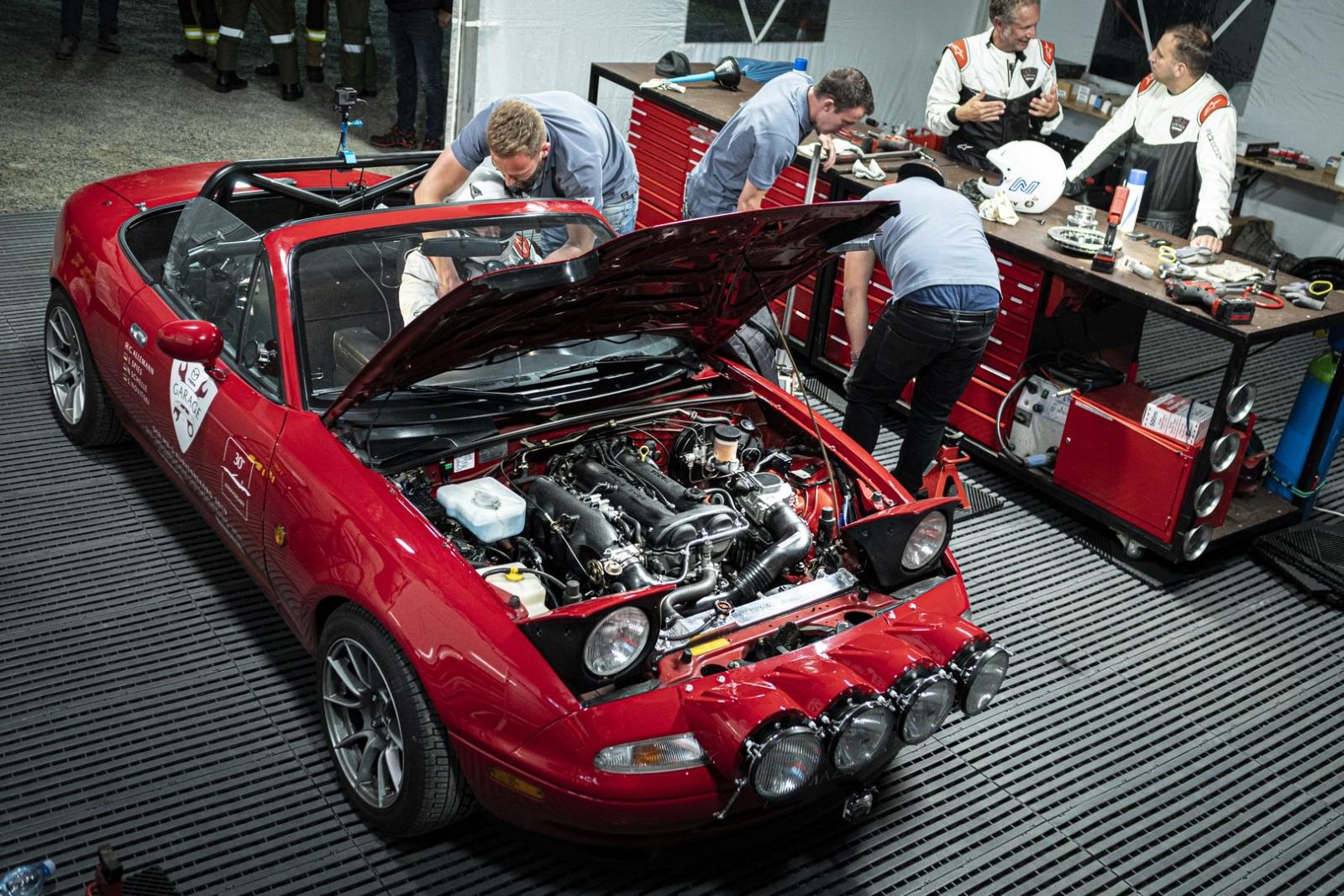 Mazda MX-5 hajtűkanyar rekord