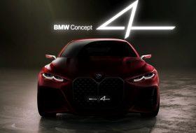 4-es, bmw, concept 4, frankfurti autószalon