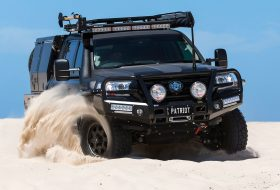 land cruiser, patriot campers, pickup, supertourer, toyota