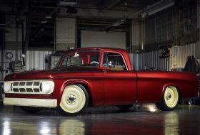 dodge, lowliner concept, mopar, pickup, sema show