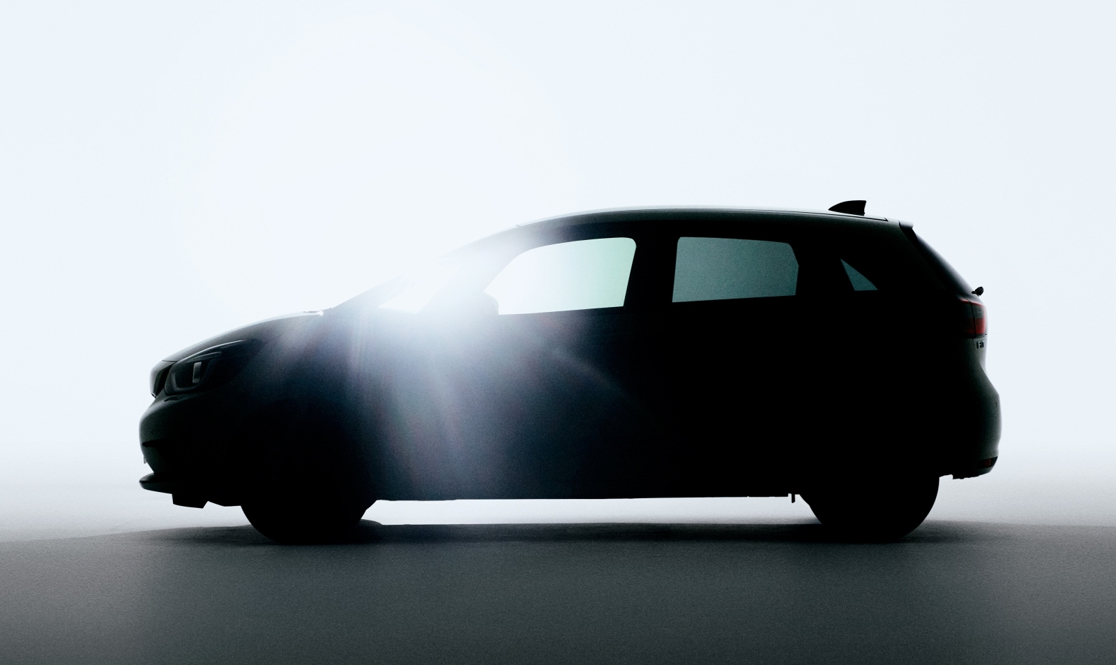 Honda teases image of next generation Jazz
