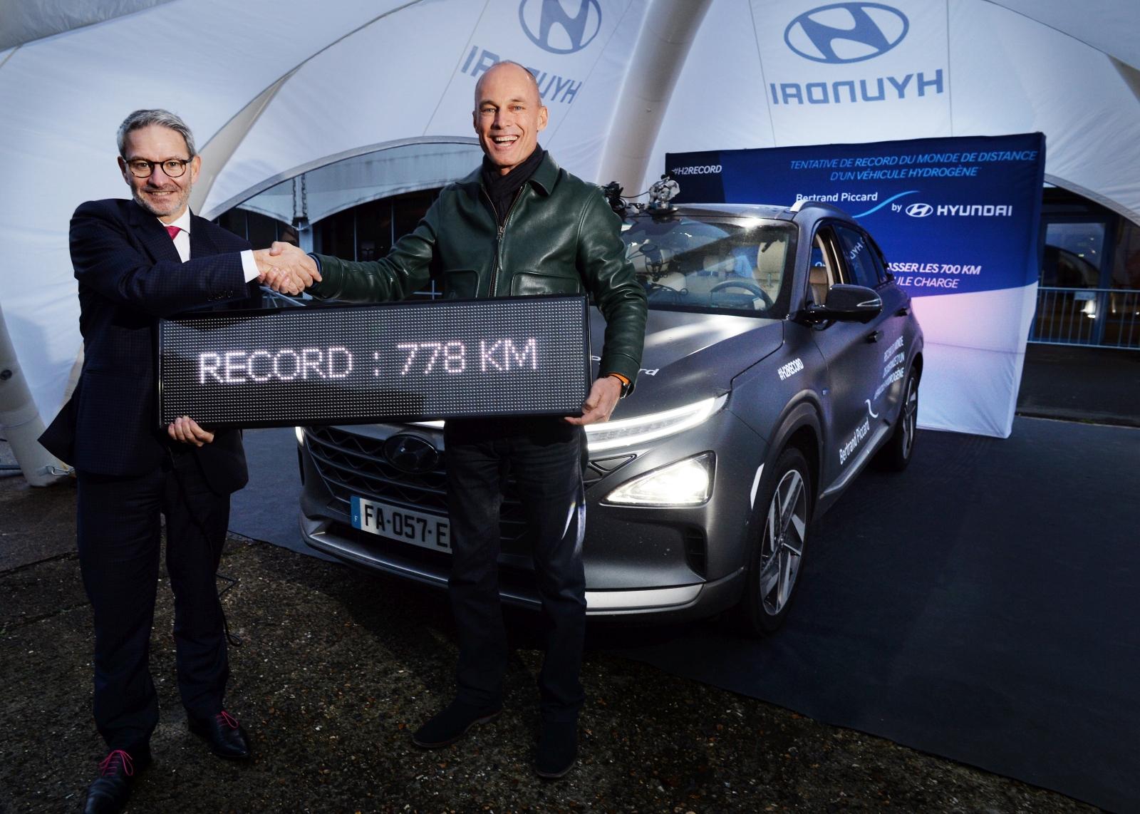 Hyundai Nexo világrekord