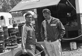 carroll shelby, ferrari, ford, goodyear, ken miles, le mans, shelby american