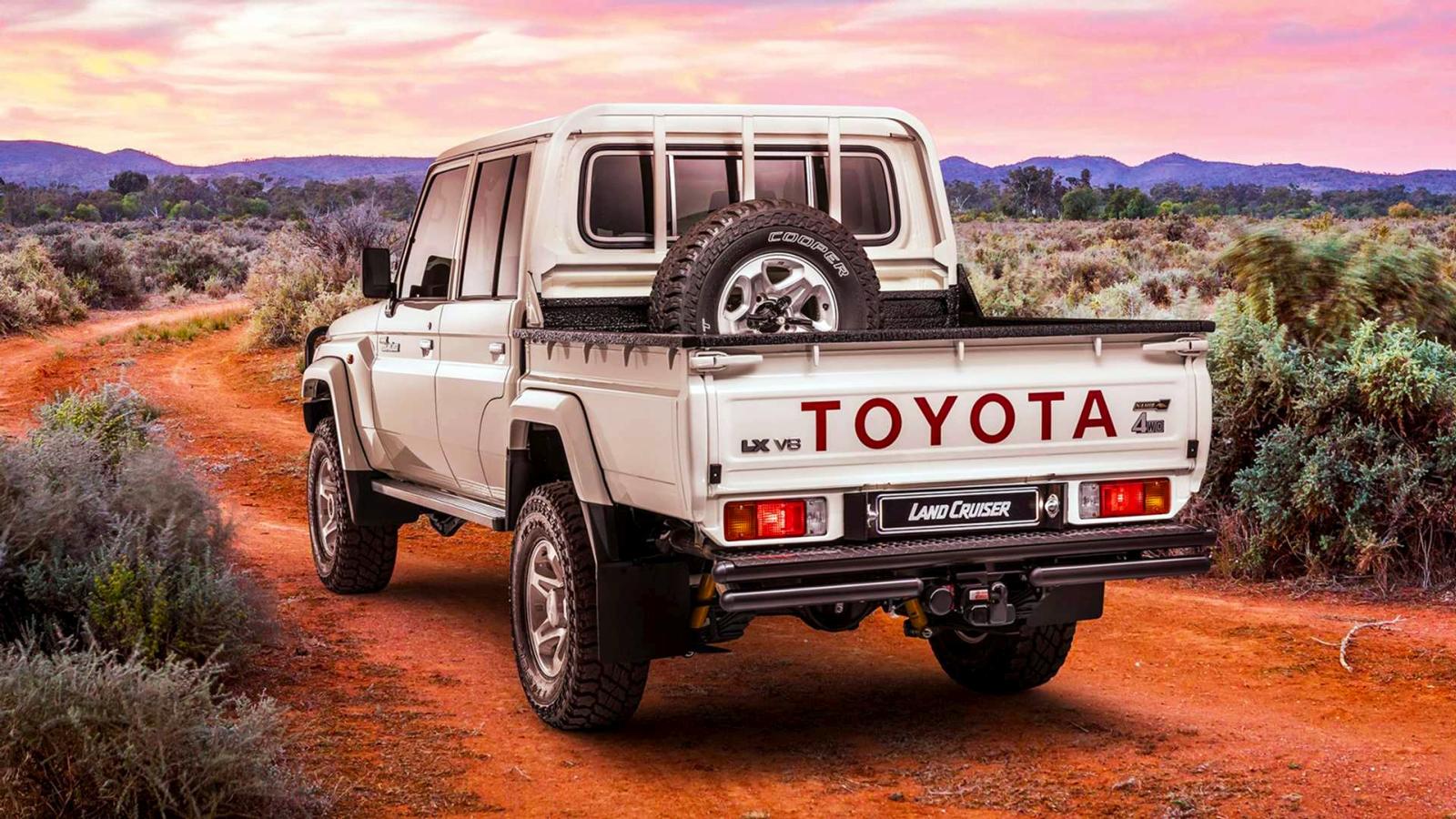 Toyota Land Cruiser 79 Namib Edition